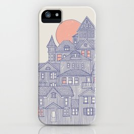 Rainy City iPhone Case