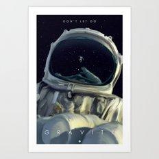 Gravity Alternative Poster Art Print