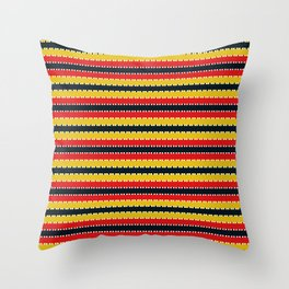 Plaid Background Throw Pillow