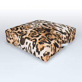 Pattern Leopard Outdoor Floor Cushion
