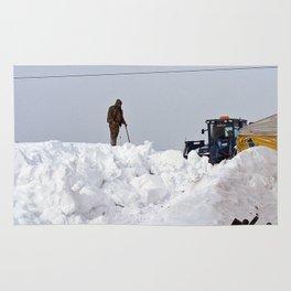 Coastal Snowbank Rug