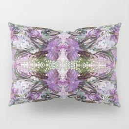 Psychedelic Positive Notes Lavender Zoom Pillow Sham