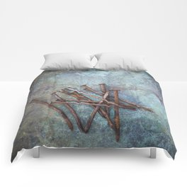a bunch of nails Comforters