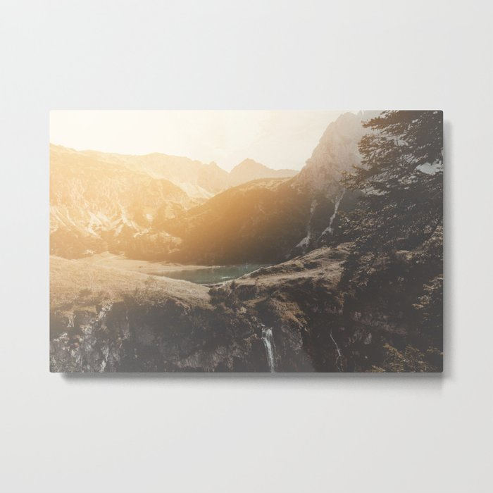 Is this real landscape photography Metal Print