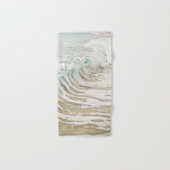 Sea Foam Hand & Bath Towel
