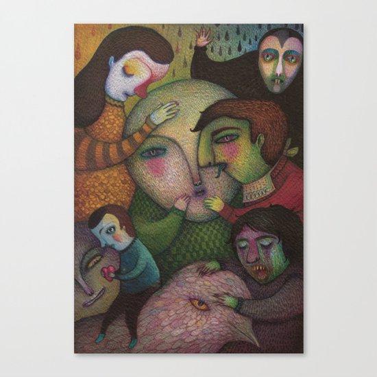 Seeking the truth Canvas Print