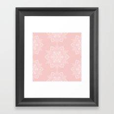 Winter Spirit - Blush Framed Art Print