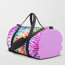 Crumpled Rainbow V Tie Dye Duffle Bag
