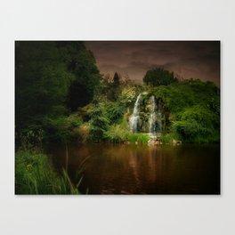 Wasserfall Canvas Print