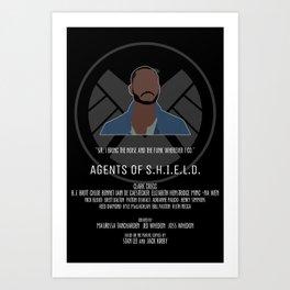 Agents of S.H.I.E.L.D. - Trip Art Print