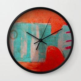 Peixe Rabo de Pente Wall Clock