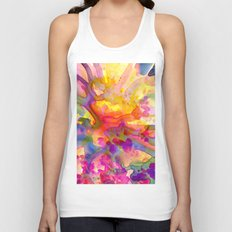 floral explosion Unisex Tank Top
