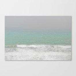 Foggy Sea Canvas Print