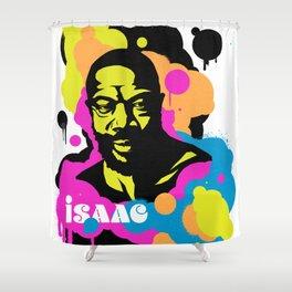 Soul Activism :: Isaac Hayes Shower Curtain