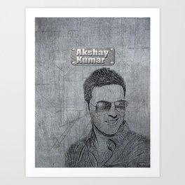 Akshay Kumar Iphone Art Print