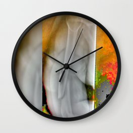 Athlete's pain Wall Clock