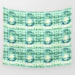 Green Tribomb Wall Tapestry