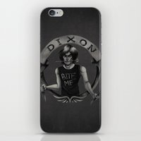 daryl dixon iPhone & iPod Skins featuring Daryl Dixon by Blanca Limón