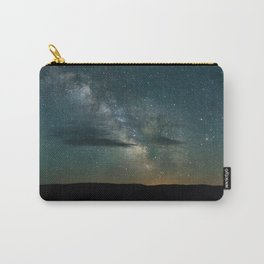 Milky Way over the Porcupine Mountains Carry-All Pouch
