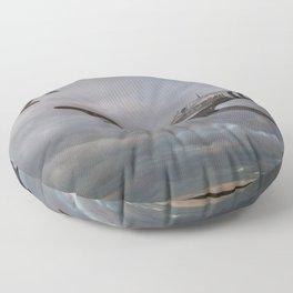 126 Squadron Spitfires Floor Pillow