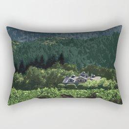Napa Valley - Far Niente Winery, Oakville District Rectangular Pillow