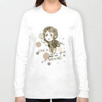 chibi Long Sleeve T-shirts featuring Chibi Bilbo by KuroCyou