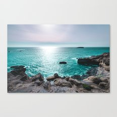 Turquoise Cove Canvas Print