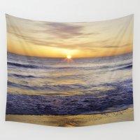 virginia Wall Tapestries featuring VIRGINIA BEACH by M.KATZ DESIGNS