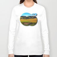 farm Long Sleeve T-shirts featuring From farm to farm by Patrick Jobst