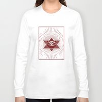 third eye Long Sleeve T-shirts featuring Third Eye by Stranger Designs