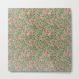 "William Morris ""Honeysuckle"" 1. Metal Print"