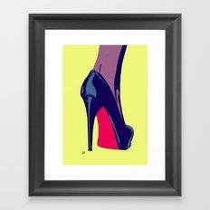 Shoe Framed Art Print