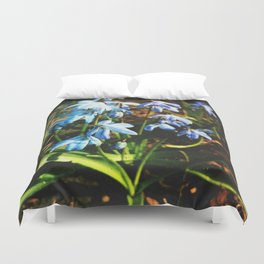 just a lovely flowers Duvet Cover