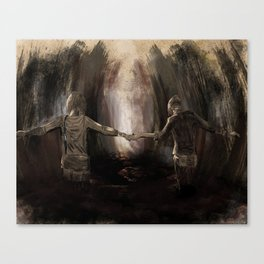 Life Is Strange Painting Canvas Print
