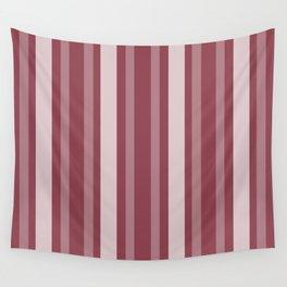 Dark Rose Victorian Lady Stripe Wall Tapestry
