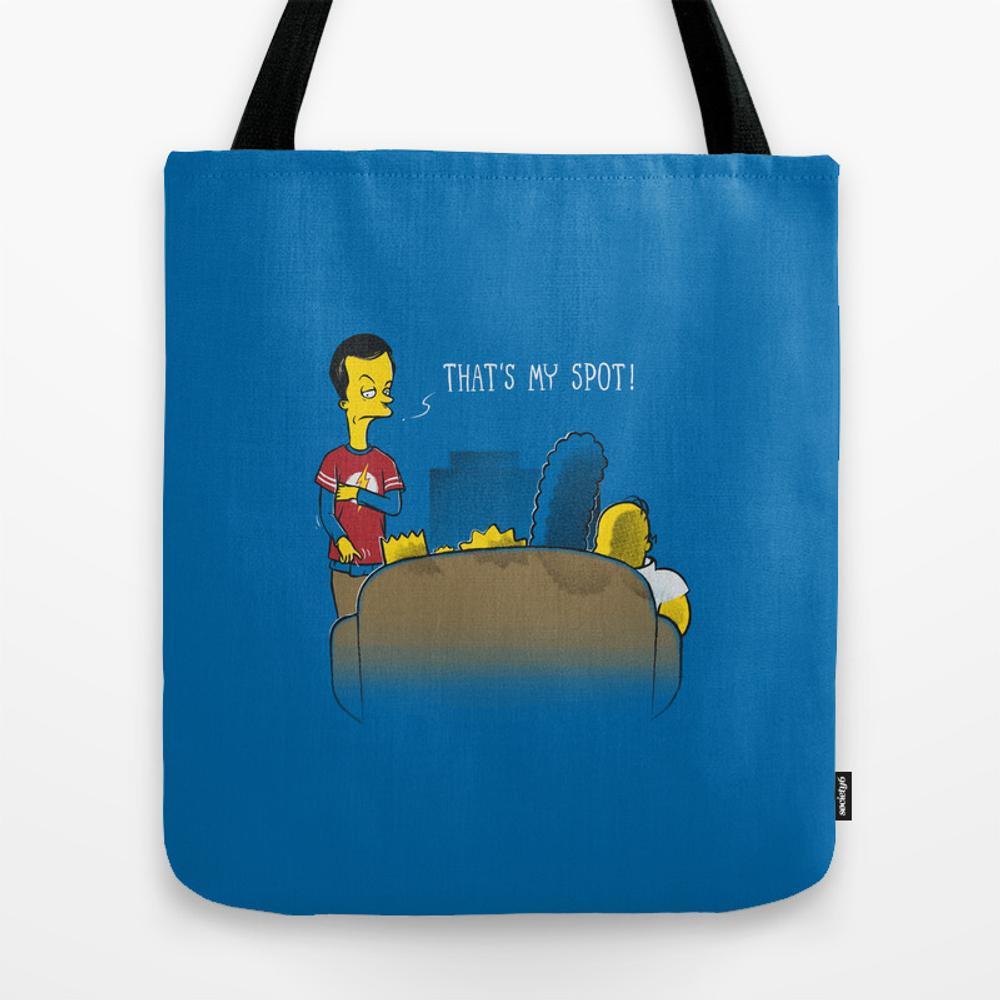 That's My Spot Tote Bag by Ricomambo TBG8261597