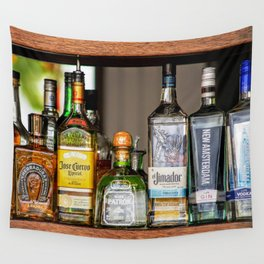 Last Call For Alcohol Wall Tapestry