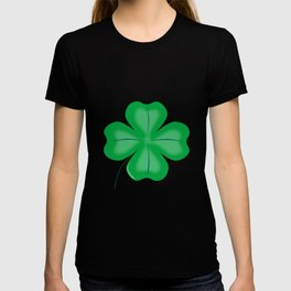 Lucky Four Leaf Shamrock T-shirt