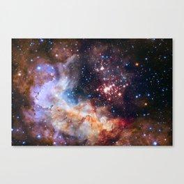 Star Cluster Westerlund 2 Canvas Print