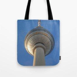 Berlin TV Tower, Alexanderplatz Tote Bag