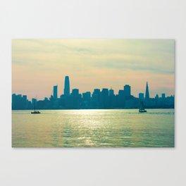 San Francisco Sunlights Canvas Print