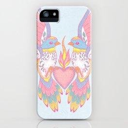 Lovebirds iPhone Case