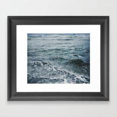 Arctic Waters Framed Art Print