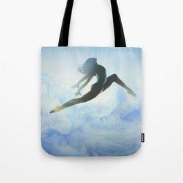 Dancer's Leap Tote Bag