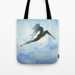 Dancer's Leap Tote Bag