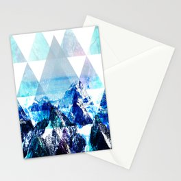 Snow Top Stationery Cards