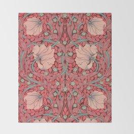 """William Morris """"Pimpernel"""" 3. Throw Blanket"""