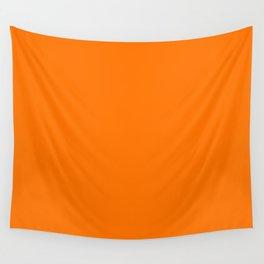 Pumkin Orange Wall Tapestry