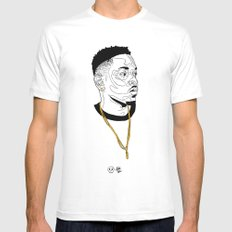 Kendrick Lamar Mens Fitted Tee 2X-LARGE White