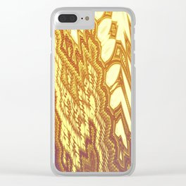 Fractal Abstract 49 Clear iPhone Case
